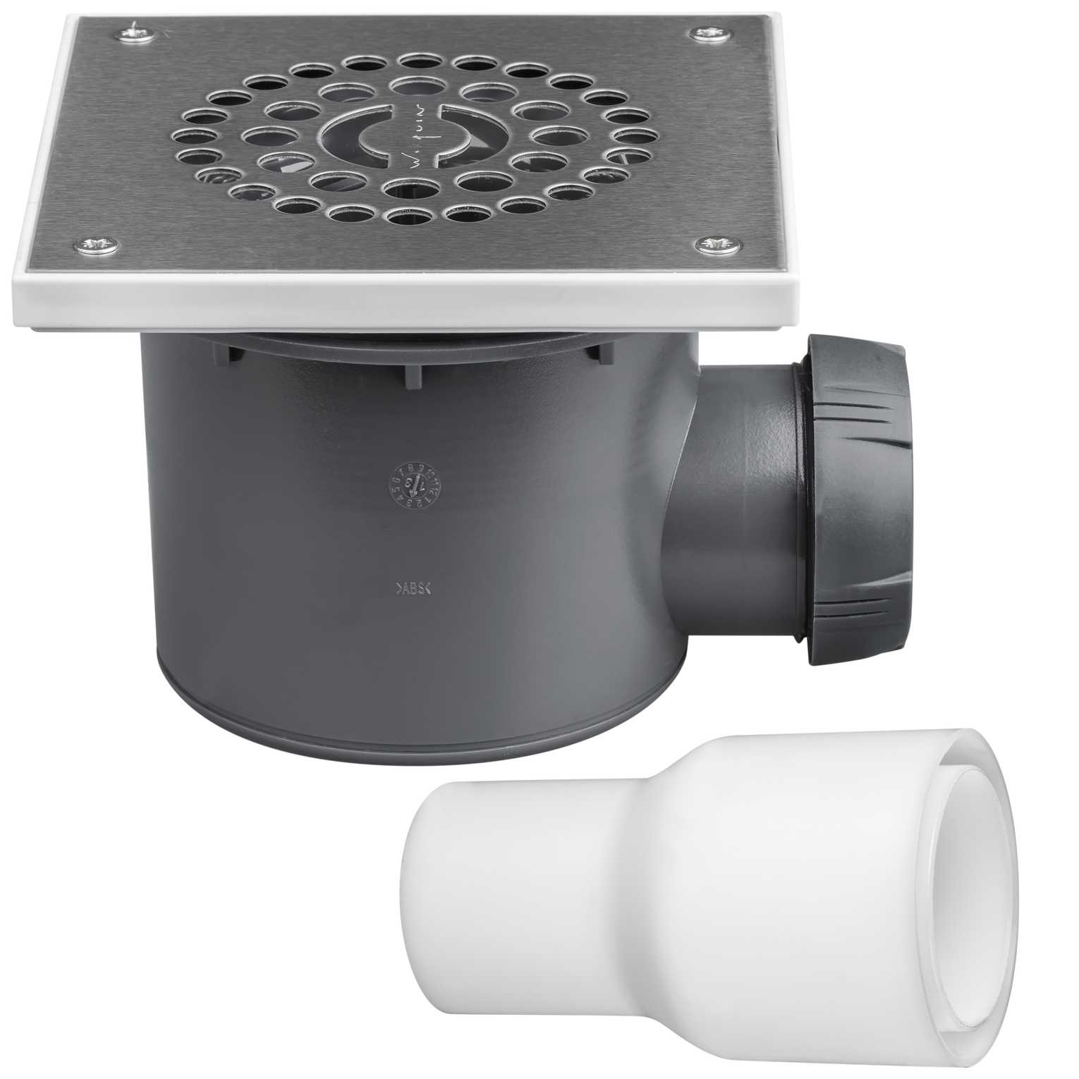 Wirquin Square Shower Trap Tourbillon Highflow The Bathroom