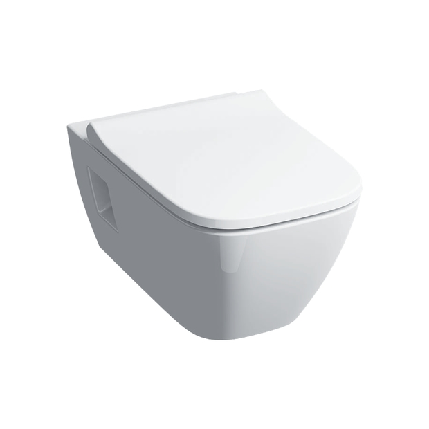 Geberit Smyle Square Wall Hung Wc With Soft Close Seat